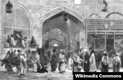 Tehran bazarı