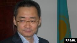 Алексей Пан, председатель наблюдательного совета газеты «Экспресс К». Алматы, 18 мая 2009 года.