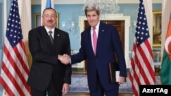 İlham Əliyev və John Kerry