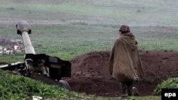 Вірменські позиції в Нагірному Карабасі, 3 квітня 2016 року
