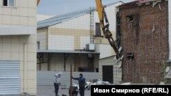"""Снос здания ТЦ """"Зимняя вишня"""" в Кемерове"""