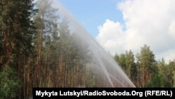 Тренування пожежників Донецької області. Ілюстративне фото