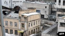 Здание на ул. Стромынка в Москве, где находился сгоревший швейный цех