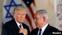 Presidenti Donald Trump dhe kryeministri izraelit Benjamin Netanyahu