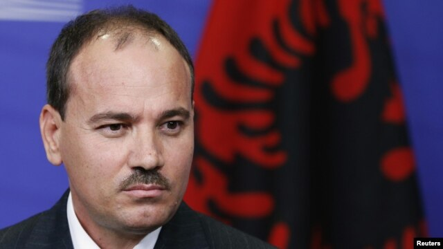 Albanian President Bujar Nishani at the European Commission's headquarters in Brussels in mid-September