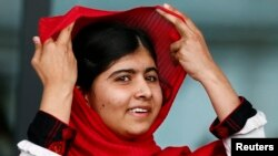Pakistani schoolgirl Malala Yousafzai was shot in the head by the Taliban in October 2012 for advocating girls' education.