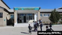 Школа в городе Туркестан Южно-Казахстанской области.