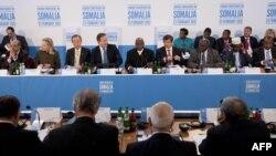 Лондонда Сомалиде тұрақтылық орнатуға қатысты өткен конференция. Лондон, 23 ақпан 2012 жыл.