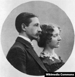 Иван Бунин и Вера Муромцева-Бунина. 1910-е