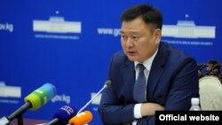 Вице-премьер-министр Дуйшенбек Зилалиев.