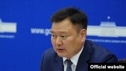 Вице-премьер-министр КР Дуйшенбек Зилалиев.