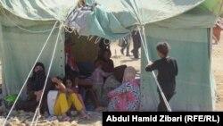 نازحون سوريون في مخيم كوروكوسك باربيل