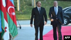 İlham Əliyev və Giorgi Margvelashvili