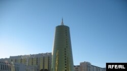 """""""Самұрық - Қазына"""" әл-ауқат қорының ғимараты. Астана, 28 қаңтар,2009 жыл."""