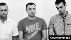 Тры ўдзельнікі АТО з фільму Сяргея Лойкі