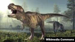 Tiranosaurusrex, dinosaur i gjatë 15 metra me dhëmbë deri në 20 cm