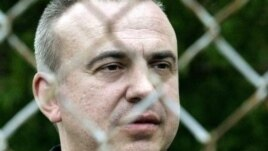 "Yuri Bandazheuski, author of ""The Doctor Behind Bars"", while incarcerated in a Belarusian penal colony in 2004."
