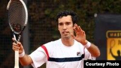 Казахстанский теннисист Михаил Кукушкин. Рим, 13 мая 2012 года
