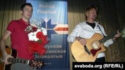 Unplugged-выступ Лявона Вольскага