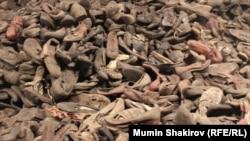 Обувь заключенных лагеря Освенцим