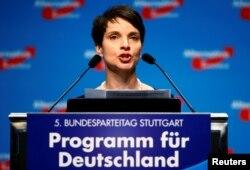 Голова партії «Альтернатива для Німеччини» Фрауке Петрі