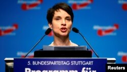 Співголова партії «Альтернатива для Німеччини» Фрауке Петрі