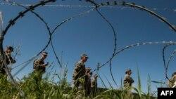 Pjesëtarë të Forcës së Sigurisë së Kosovës gjatë një ushtrimi