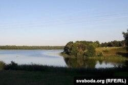 Азёрны краявід у Белай Царкве
