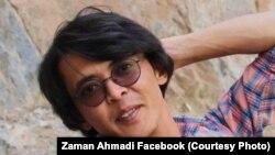 زمان احمدی روزنامه نگار محلی در ولایت بامیان
