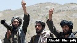 «Taliban» döyüşçüləri