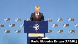 Брисел- прес конференција на генералниот секретар на НАТО Јенс Столтенберг, 11.02.2020
