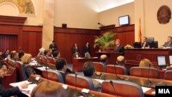 Presidenti Ivanov në Kuvendin e Maqedonisë