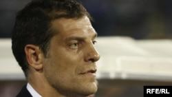 Хорватия құрамасының бас бапкері Славен Билич. 5 қыркүйек 2009 жыл.