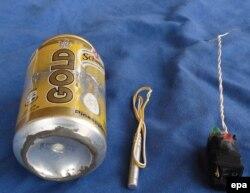 Россиянинг А321 учоғи айнан шу лимонад банкаси билан портлатилгани айтилди