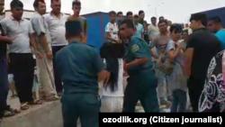 Uzbekistan - Screen from Oqqurgan