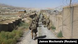ارشیف، افغانستان کې مېشت یو شمېر امریکايي سرتېري