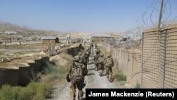 افغانستان کې امریکايي سرتېري