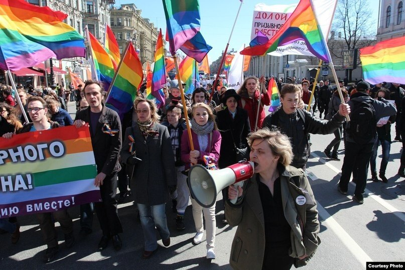 Fighting for the rights of the lgbt community