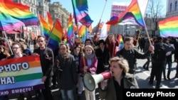 Russia - Natalia Tsymbalova, LGBT-Srtraight alliance coordinator