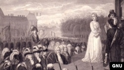Мария-Антуанетта перед казнью