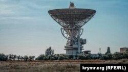 Радиоастрономический телескоп РТ-70 Национального центра управления и испытания космических средств Украины. Евпатория, село Молочное, 1998 год