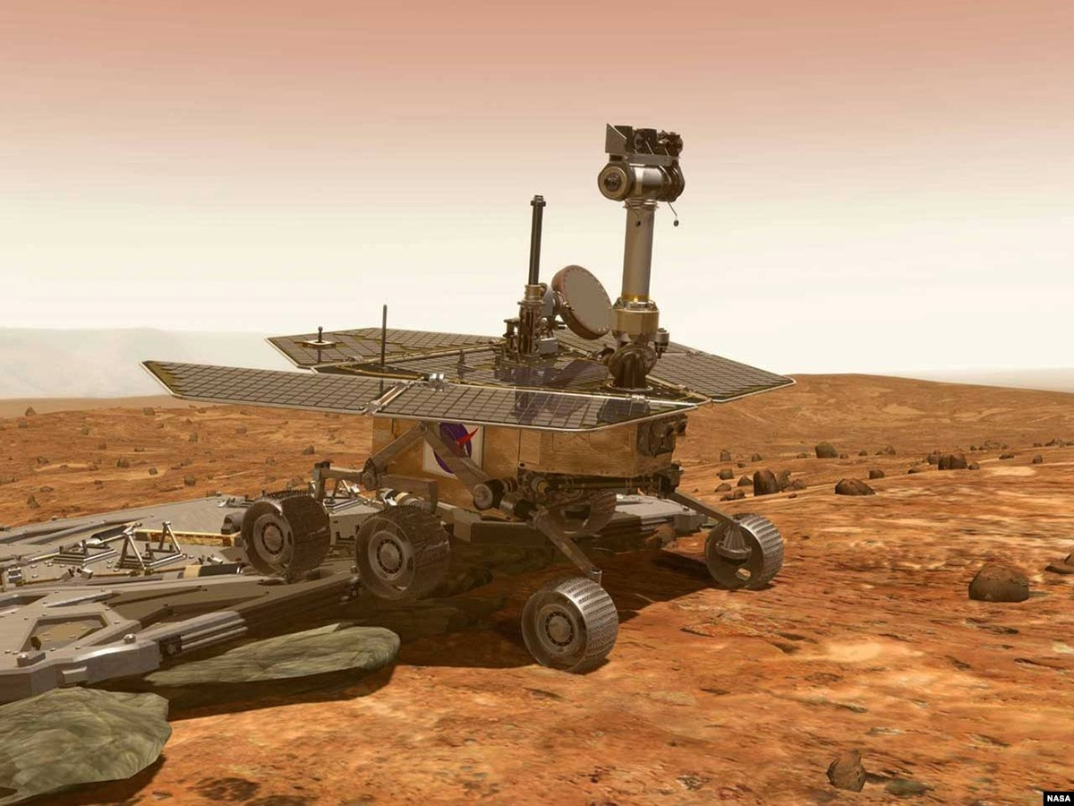 mars rover opportunity - 800×571