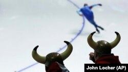 Норвежские болельщики на Олимпиаде в Пхёнчхане