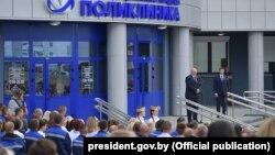 Аляксандар Лукашэнка на сустрэчы з жыхарамі Гомля, 21 ліпеня