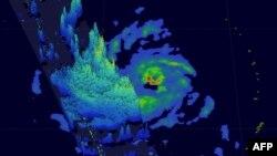 Снимок тайфуна, сделанный NASA из космоса. Иллюстративное фото.