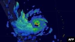 Snimak tajfuna, fotoarhiv