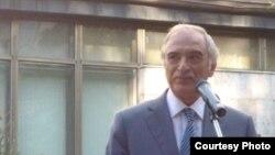 Чрезвычайный и Полномочный посол Азербайджана в России Полад Бюльбюльоглу. Дни азербайджанской культуры в Москве, 2012