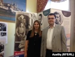 Альбина Әпсәләмова һәм Марат Сәфәров