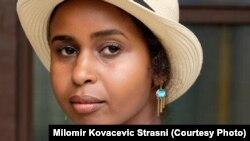 Nadifa Mohamed, somalijsko-britanska spisateljica na Bookstanu, Sarajevo, 7. juli, 2018.