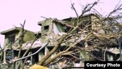 منزل جبرا بعد الإنفجار